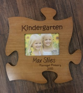 Kindergarten Picture Frame with Engraving