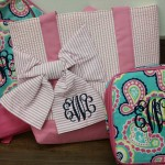 Monogrammed Backpacks and Bags