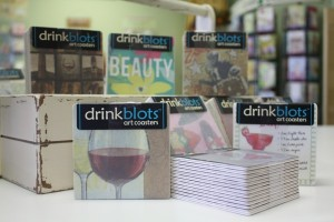 DrinkBlots Art Coasters