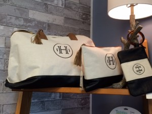 Custom Tote Set with Monogramming
