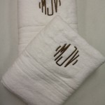 Towels with Monogramming