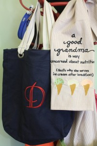 Totes and other gifts