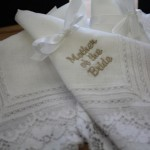 Monogrammed bridal and wedding gifts