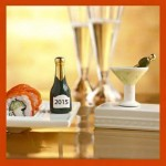 Nora Fleming Champagne and Martini Minis