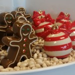 Nora Fleming Gingerbread Man and Ornament Minis