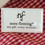 Nora Fleming Sign
