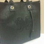 Purse with monogramming